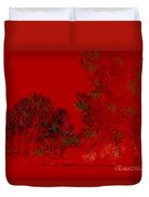 Smokey Woods Duvet Cover