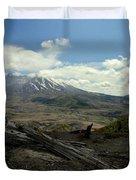 Smoking Mountain Duvet Cover
