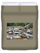 Smoky Mountain Streams Duvet Cover