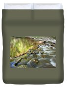Smoky Mountain Streams Iv Duvet Cover