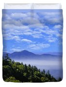 Smoky Mountains Duvet Cover