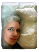 Smudged Lipstick II Duvet Cover