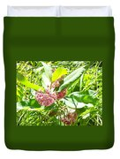 Snail On Leaf Duvet Cover