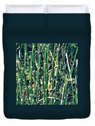 Snake Grass On The Beach Duvet Cover