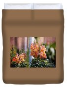 Snapdragons Duvet Cover