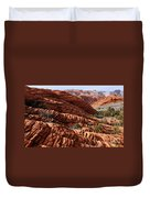 Snow Canyon 2 Duvet Cover