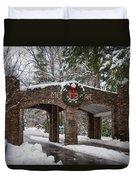Snow Gate  Duvet Cover