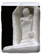 Snow Mummy Duvet Cover