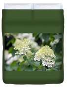 Snowflake Hydrangea 2 Duvet Cover