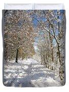 Snowpath Duvet Cover
