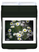 So Many Flowers So Little Time Duvet Cover