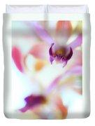 Soft Seduction. Orchids Duvet Cover