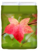 Softly Comes The Fall  2 Duvet Cover