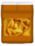 Softness In Yellows Duvet Cover