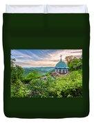 Sokolski Monastery Duvet Cover