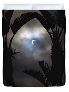 Solar Eclipse II Duvet Cover