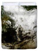 Solar Eclipse Over Southeast Asia Duvet Cover