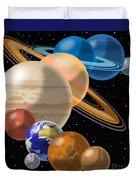 Solar System Duvet Cover