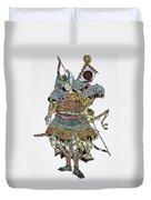 Soldier: Samurai Duvet Cover