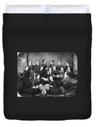 Soldiers Aid Society, 1863 Duvet Cover