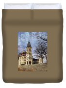 Soldiers Home And Brick Duvet Cover