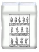 Soldiers: Infantry Drill Duvet Cover