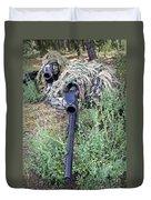 Soldiers Practice Sniper Skills Duvet Cover