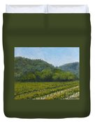 Solis Winery Duvet Cover