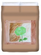 Solitary Rose Duvet Cover