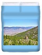 Solitude With A View - Carson City Nevada Duvet Cover