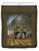 Solovetsky Monastery On The Kola Peninsula - Russa - Ca 1900 Duvet Cover