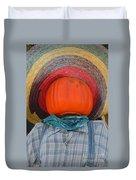 Sombrero Scarecrow Duvet Cover