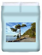 Somes Sound Maine Duvet Cover