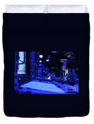 Sonar Technician Stands Watch Duvet Cover by Stocktrek Images