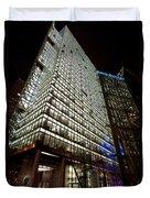 Sony Center At Night Duvet Cover