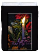 Soothing Candle Light Duvet Cover