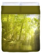 Soothing Rays Duvet Cover