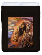 Soul Of Wild Horse Duvet Cover