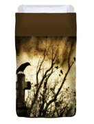 Soulful Crow Duvet Cover