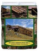 Sound Democrat Mill Compilation Duvet Cover
