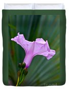 South American Morning Glory Duvet Cover