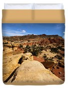 South Fruita Overlook Duvet Cover
