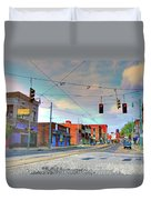 South Main Street Memphis Duvet Cover
