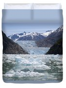 South Sawyer Glacier And Bay Full Duvet Cover