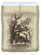 Southern Comfort Sepia Duvet Cover
