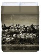 Souvenirs White Rock Bc Duvet Cover