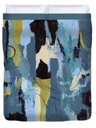 Spa Abstract 1 Duvet Cover by Debbie DeWitt