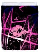 Space Battle Duvet Cover
