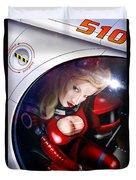 Space Girl Duvet Cover