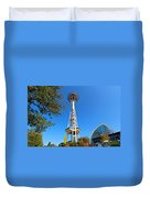 Space Needle In Seattle Washington  Duvet Cover